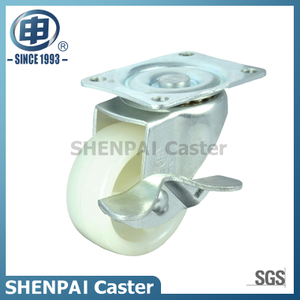 "2.5""Micro Duty PP Swivel Locking Caster Wheel"