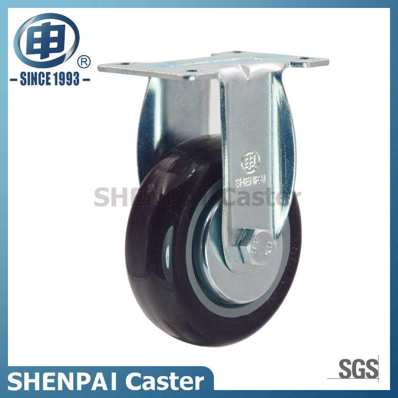 "4"" Nylon Rigid Caster Wheel for Medium Duty"