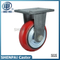 "8"" Iron Core PU Rigid Plastic Spray Caster Wheel"