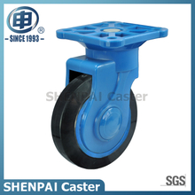 "4""Rubber Swivel Silent Caster Wheel"