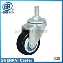 "2""Nylon Threaded Stem Swivel Caster Wheel"