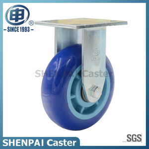 "4"" Polyurethane Rigid Industrial Caster Wheel"