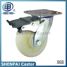 "8""Stainless Steel Bracket Swivel Locking PP Caster Wheel"